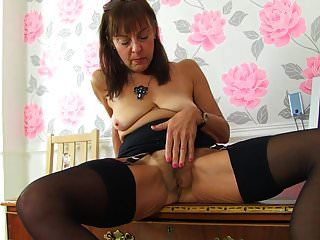 Sexy Grandma Needs Cock In Ass Pussy And Mouth