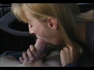 Blowjob In The Car And Cumshot In The Mouth