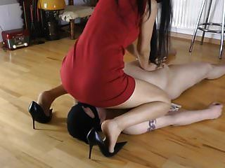 Hot Mistress Facesit Cbt