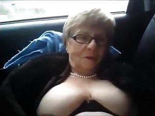 Dirty Granny Car Piss