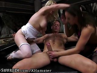 Rocco Siffredi And Kelly Roughly Dominate Amirah