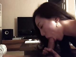 Hot Asian Chick Sucks Cock Till Happy End