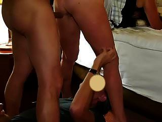 Licking Wifes Creamed Pussy