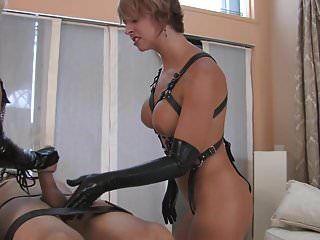 2 Hot Blond Mistresses Femdom