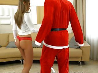 Rimming Christmas - Girlsrimming - Bad Santa