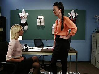 Eliza Jane Trapped In A 3-way Lesbian Blackmail Ruse