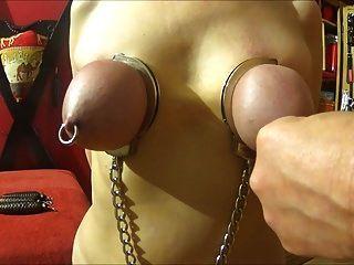 Beat Her Tits Bound In Handcuffs