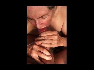 Granny Makes Handjob For Eat Sperm 01