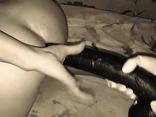 Big Dildo And Deep Anal Fisting
