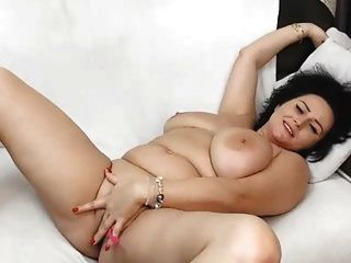Sexy Milf Spreading Legs Wide Open With Vibrator In Pussy