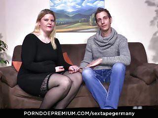 Sextape Germany - Bbw Blondie Gives Amateur Blowjob
