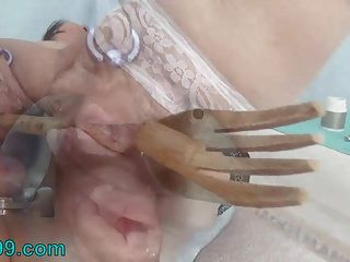Urethral Fucking 2 Knifes And Peehole Sounding With Objects
