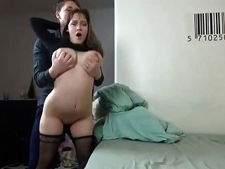 Big Tit Amateur Hard Fucked At Home