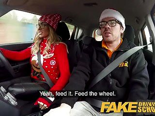 Fake Driving School Randy Instructor Fucks Kiwi Milf