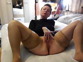 Sie Zeigt Ihre Sexy Muschilippen