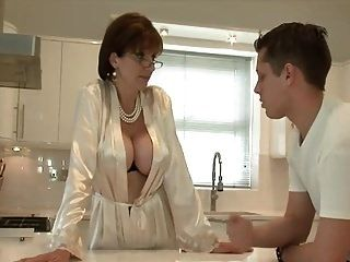 Classy Lady Serviced By Young Handyman