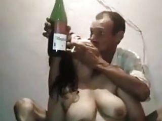 Deshi Uncle With Randi-stripper