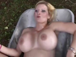 Big Tits Piss Swallowing Whore