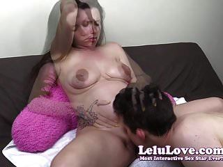 Lelu Love-pregnant Pussy Eating Then Pov Creampie