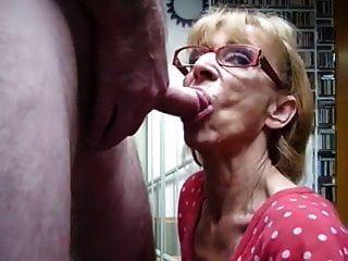 Granny Blowjob And Swallow