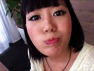 Jav Cutie Learns That Cum Is Food