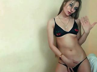 Fantastic Long Haired Striptease And Hairplay, Long Hair