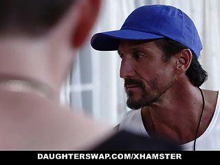 Daughterswap - Horny Tennis Girls Ride Stepdads Cock