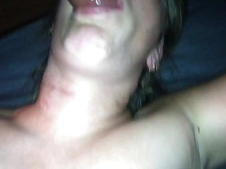 My Wife Fucked Horny In The Mouth And Sprayed In The Face