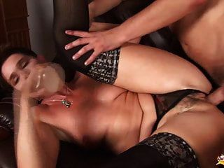 Busty Hairy Mom Brutal Rough Fucked