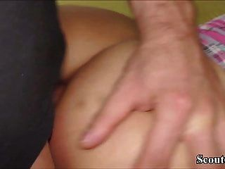 Two German School Girls Get Fuck By Lucky Guy With Big Dick