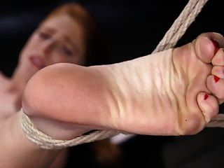 Red Headed Slut Is Bound And Tormented