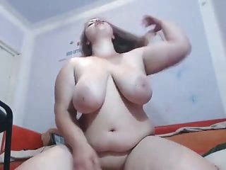 Girl Monster Tits Webcam Masturbation