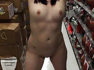 Naked In Public At Walmart