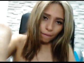 Niley Playing With Her Pussy And Squirts Her  Milk On Dildo