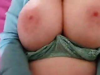 67 Year Old Cougar Tits Bouncing While 29 Year Old Cub Fucks