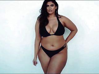 Plus Size Bikini Try On