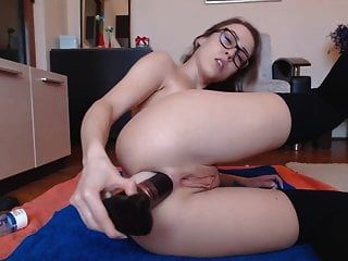 Sexy Blonde Loves Anal And Show Off Prolapse Rosebud