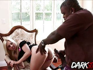 Jessi Volt Gets Her Ass Eaten And Fucked By A Black Guy