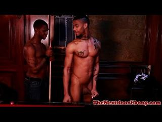 Gayblack ebony hunks sensual session