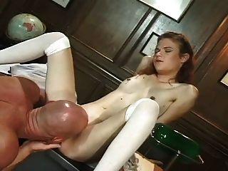 Young girl fucks lost virgin