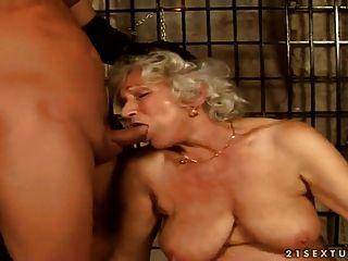 Granny norma orgy